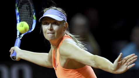 Maria Sharapova swings, both on and off court