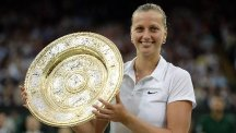 Petra Kvitova is considered to be one of the leading grass-court players in the world