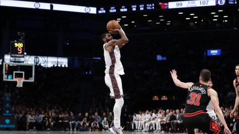 Irving scores 54 as Nets wipe out Bulls