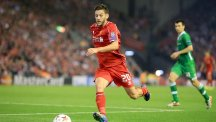 Adam Lallana has always dreamt of playing in the Champions League