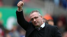 Aston Villa manager Paul Lambert has extended until 2018