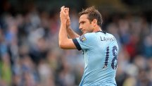 Manchester City's Frank Lampard scored against his former club