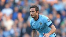 Seeing Frank Lampard, pictured in the light blue of Manchester City was weird, according to Chelsea's Gary Cahill
