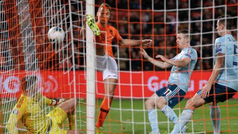 Late heartbreak for Northern Ireland as Dutch hit back for victory