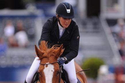 Laura Renwick says show jumping is in her blood