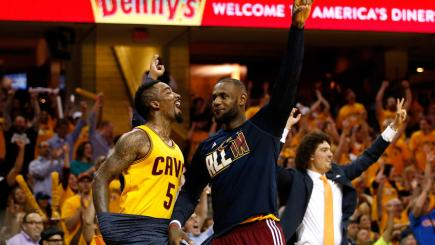 Cavaliers cruise into NBA Finals