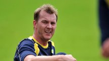 Brett Lee finished on the losing side in the Big Bash League final