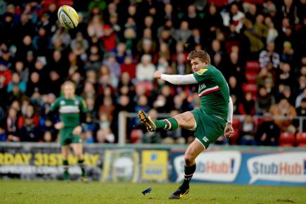 Leicester fly-half Toby Flood kicked Tigers to victory over London Irish