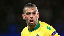 Islam Slimani is Leicester's record signing