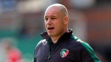 Leicester rugby director Richard Cockerill, pictured, has added Mike Fitzgerald to his selection of lock forwards