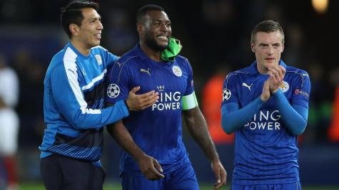Leicester will face Atletico Madrid in the Champions League last eight