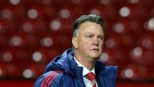 Louis van Gaal hopes Manchester United can postpone Leicester's title party for a little bit