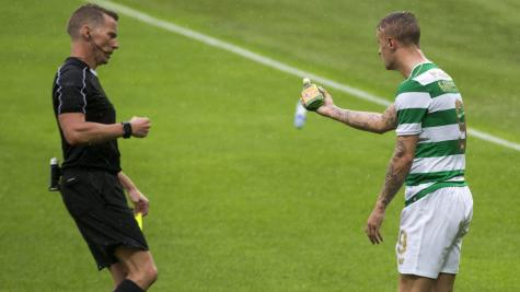 Leigh Griffiths faces further disciplinary action over Linfield match