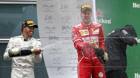 Vettel Second In China After Ferrari Falters On Strategy