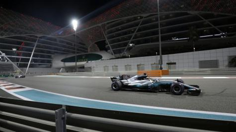 Lewis Hamilton feels competitive in Abu Dhabi after topping second practice