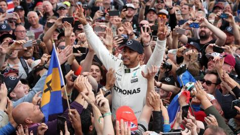 Lewis Hamilton hints at leaving F1 after winning British Grand Prix