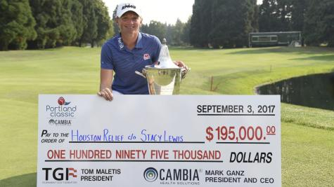 Stacy Lewis Wins Portland Classic, Pledges Paycheck To Houston
