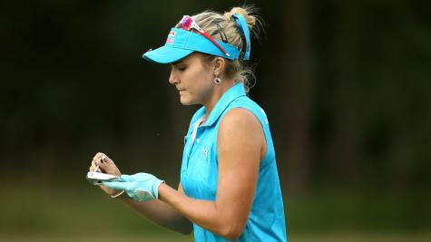 TV viewer's day-old email costs Lexi Thompson a major championship