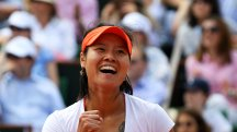 Li Na became the first Asian player to win a Grand Slam with victory at the 2011 French Open.
