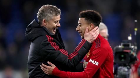 Lingard: I knocked on Solskjaer's door when I saw United future fading