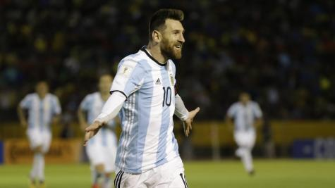 Lionel Messi says Argentina's World Cup place is merited