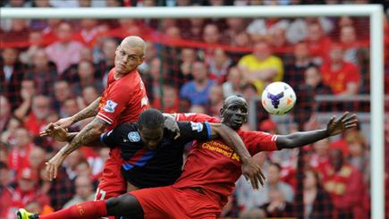 Liverpool centre-backs Martin Skrtel and Mamadou Sakho