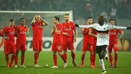 Liverpool lose to Besiktas on penalties