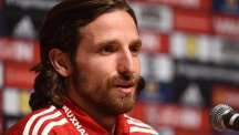 Wales international Joe Allen, pictured, struggled for playing time under Jurgen Klopp at Anfield
