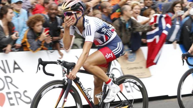 5760d8475 Lizzie Armitstead wins road race world championship