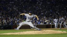 Clayton Kershaw allowed just two hits in seven shutout innings (AP)