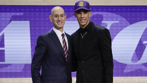 Family affair: Lakers grab Lonzo Ball with 2nd overall pick