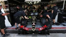 Lotus had their cars and trucks released by bailiffs for this week's Italian Grand Prix