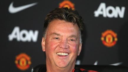 Louis van Gaal admitted he was wrong to ask to be judged after three months