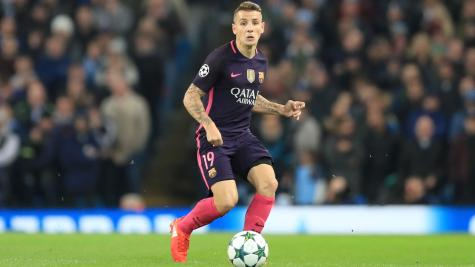 Reported Everton target Lucas Digne posts farewell message for Barcelona