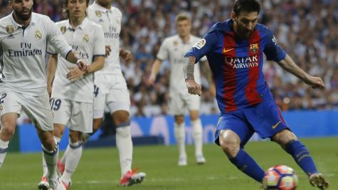 Late goal by Messi gives Barcelona dramatic win over Madrid