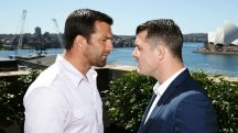Luke Rockhold and Michael Bisping will meet at UFC Fight Night in Sydney