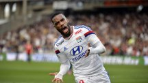 Lyon forward Alexandre Lacazette