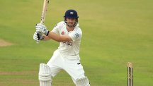 Adam Lyth scored a double century for Yorkshire