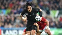 Ma'a Nonu marked his 100th Test cap in style