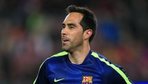 Claudio Bravo has completed his move to Manchester City