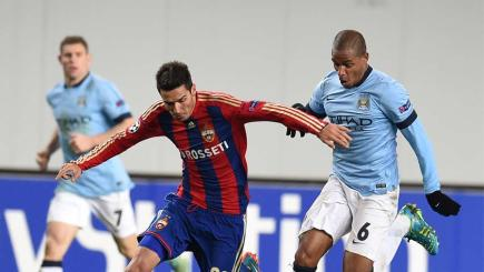Manchester City draw 2-2 away at CSKA Moscow