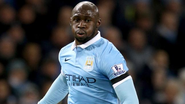 Eliaquim Mangala with a weight of 84 kg and a feet size of N/A in favorite outfit & clothing style