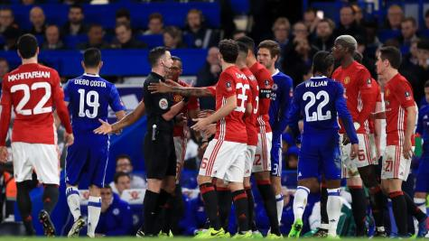 Manchester United hit with FA fine after accepting charge over Chelsea cup clash