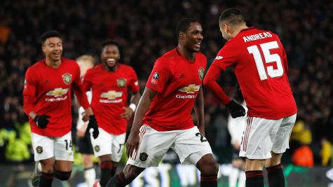 Ighalo Celebrates Manchester Derby Debut Victory