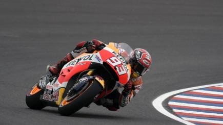 Marquez on pole for Argentina Grand Prix