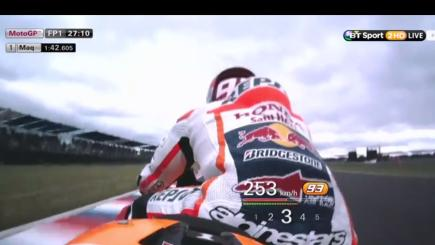 Watch: Ride with Marquez as he hits 207 mph!