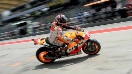 Marc Marquez takes pole in Malaysia