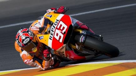 Marc Marquez wins in Valencia