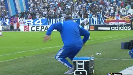Marcelo Bielsa gets a nasty surprise