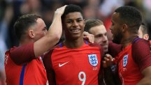 Marcus Rashford's rise continued at the Stadium of Light